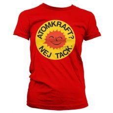 Dámské tričko Atomkraft - Nej Tack