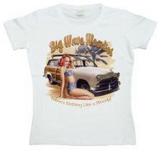 Dámské tričko Big Wave Woodys