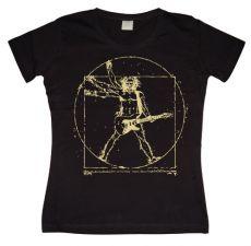 Dámské tričko Da Vinci Rock Man
