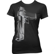 Dámské tričko Desert Eagle Gun