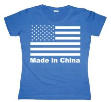 Dámské tričko Made In China