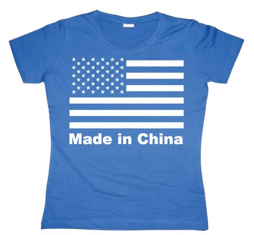 Dámské triko s humorným potiskem Made In China