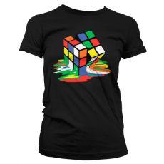 Dámské tričko Melting Rubik´s Cube