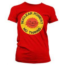 Dámské tričko Nuclear Power - No Thanks