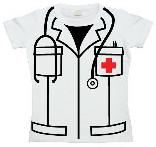 Dámské triko s humorným potiskem Nurse Cover Up