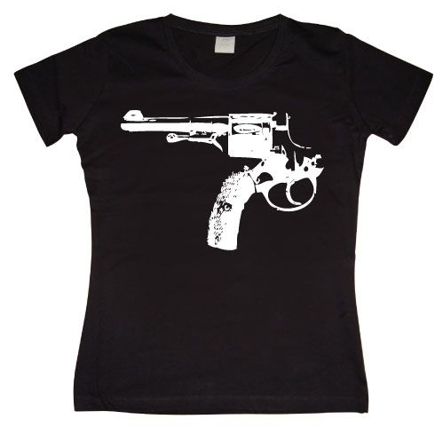 Dámské triko s humorným potiskem Reversed Revolver