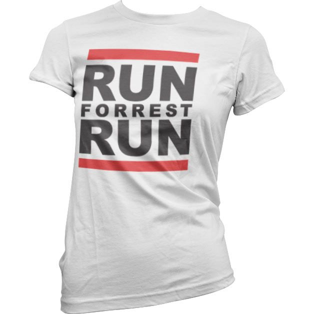 Dámské triko s humorným potiskem Run Forrest Run