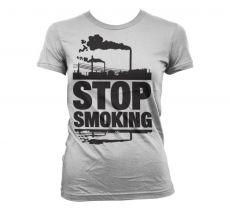 Dámské tričko Stop Smoking