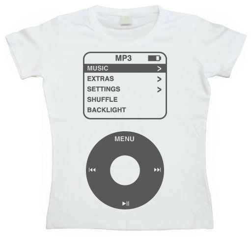 Dámské triko s humorným potiskem The Ipod