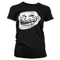 Dámské tričko Trollface