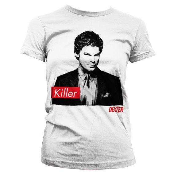 Dexter stylové dámské tričko s potiskem Killer