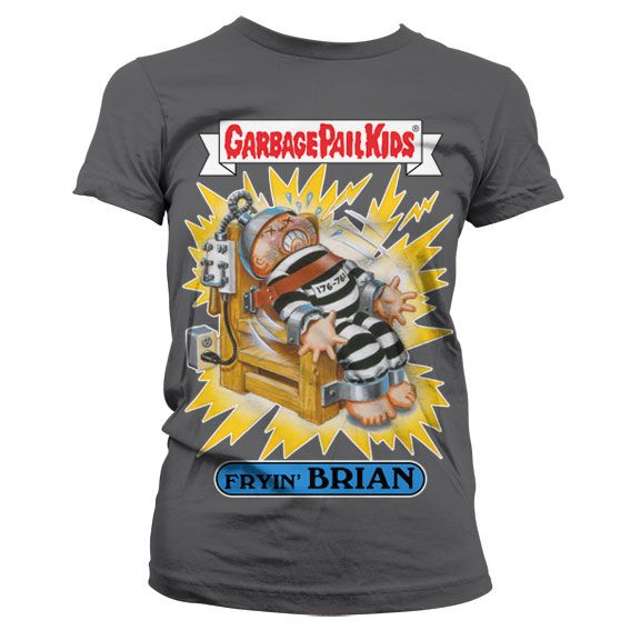 Garbage Pail Kids originální dámské tričko s potiskem Fryin´ Brian