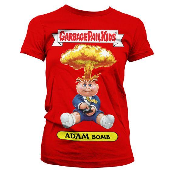 Garbage Pail Kids originální dámské tričko s potiskem Adam Bomb