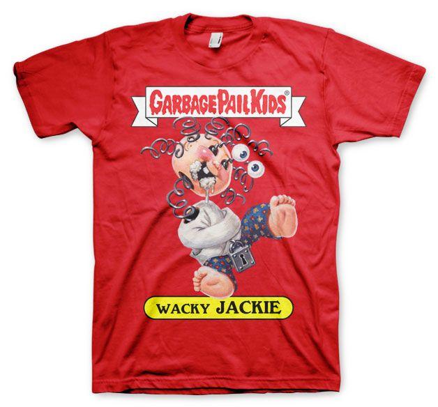 Garbage Pail Kids originální pánské tričko s potiskem Wacky Jackie