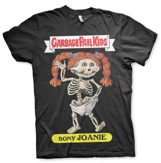 Garbage Pail Kids originální pánské tričko s potiskem Bony Joanie