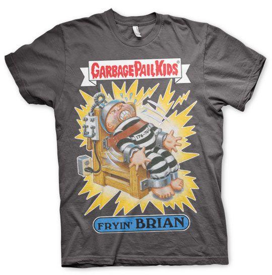Garbage Pail Kids originální pánské tričko s potiskem Fryin´ Brian