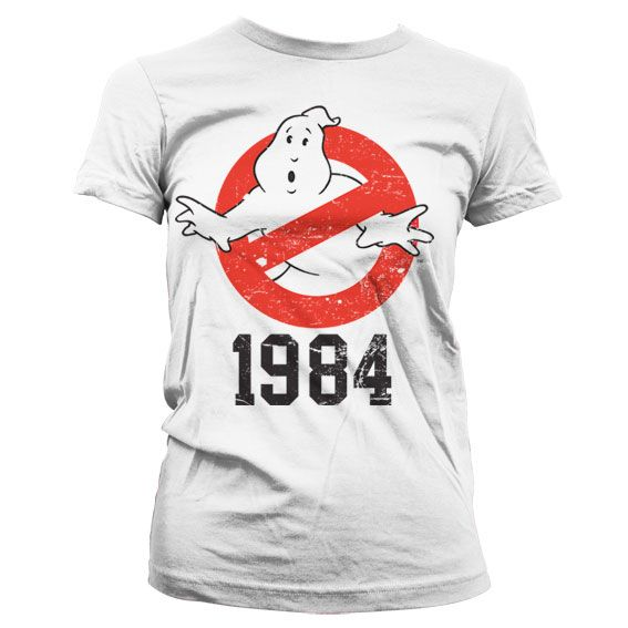 Ghostbusters stylové dámské tričko s potiskem 1984
