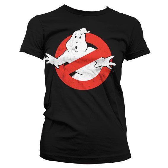 Ghostbusters stylové dámské tričko s potiskem Distressed Logo