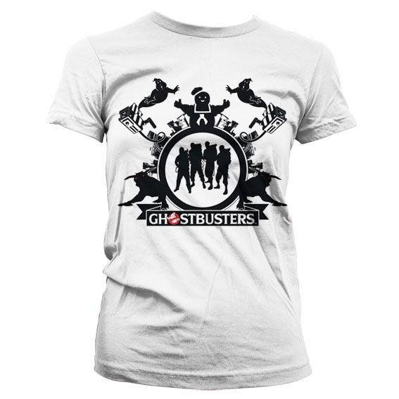 Ghostbusters stylové dámské tričko s potiskem Team