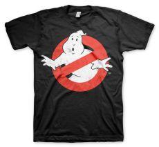 Pánské tričko Krotitelé duchů Distressed Logo