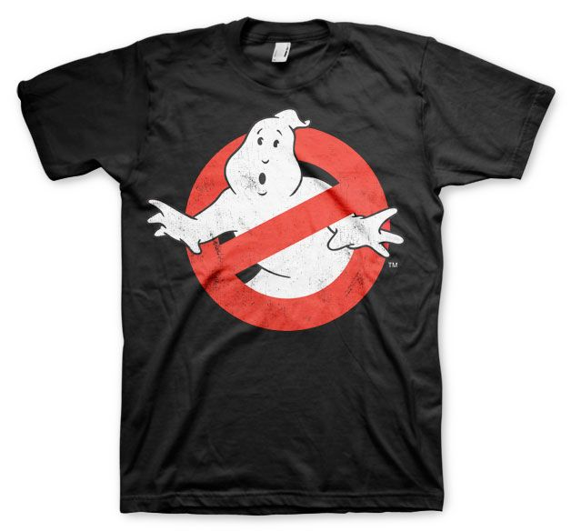 Ghostbusters stylové pánské tričko s potiskem Distressed Logo
