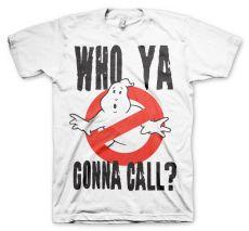 Pánské tričko Krotitelé duchů Who Ya Gonna Call?