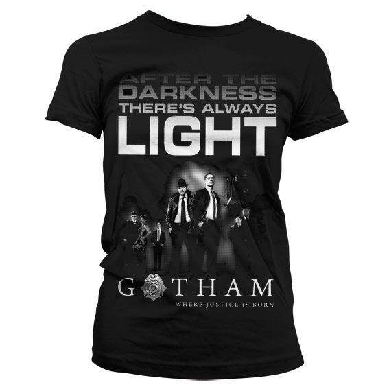Gotham módní dámské tričko s potiskem After Darkness