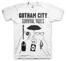 Tričko s potiskem Gotham Survival Tools