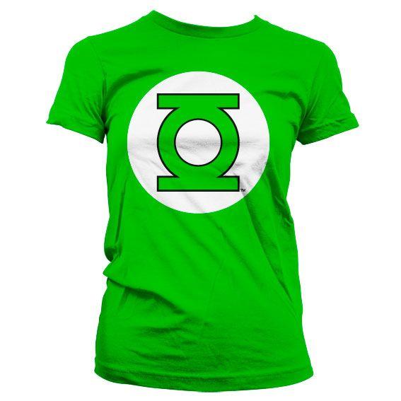 Green Lantern stylové dámské tričko s potiskem Logo