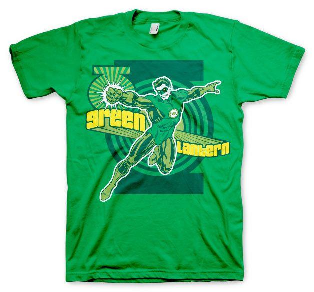 Green Lantern stylové pánské tričko s potiskem Classic