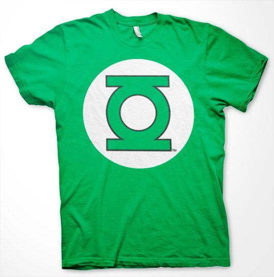 Green Lantern stylové pánské tričko s potiskem Logo