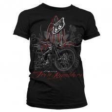 Dámské módní tričko Iron Rumbler´s - Route 66