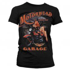 Dámské módní tričko Motorhead Garage