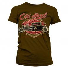 Dámské módní tričko Old Skool Gearhead