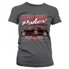 Dámské módní tričko Red Hot Poker Car Club
