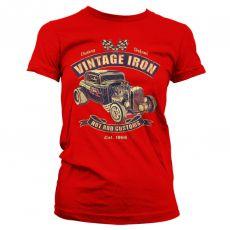 Dámské módní tričko Vintage Iron