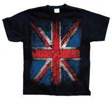 Pánské módní tričko Distressed Union Jack Flag