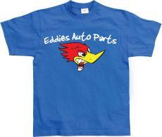 Pánské módní tričko Eddies Auto Parts