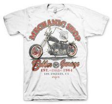 Pánské módní tričko Mechanic Shop Bobber
