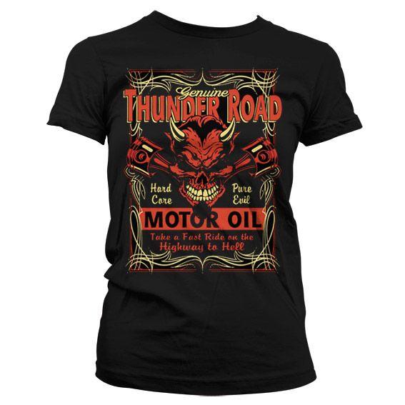 Hot Rod & Bikers stylové pánské tričko s potiskem Thunder Road Devil