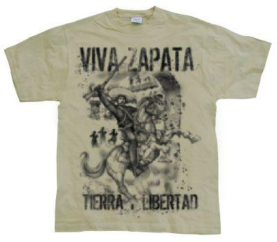 d1be28b61ba Hot Rod   Bikers stylové pánské tričko s potiskem Viva Zapata Tierra Libert
