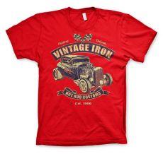 Pánské módní tričko Vintage Iron