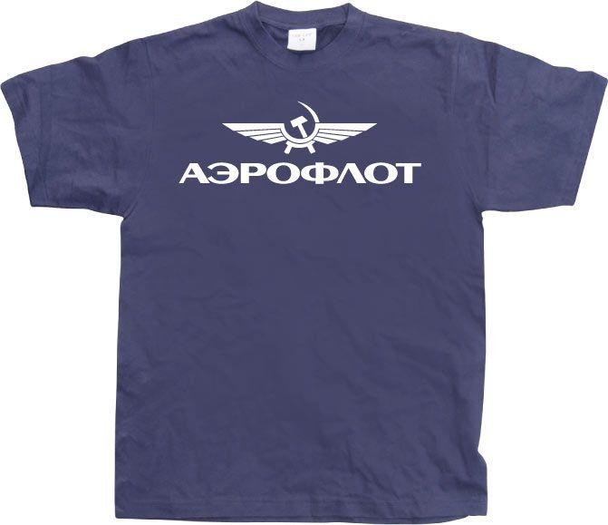 Pánské triko s humorným potiskem Aeroflot