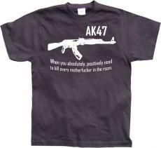 Pánské tričko AK 47 When you...