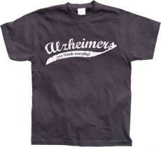 Pánské tričko Alzheimers - New Friends Everyday!