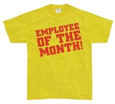 Pánské tričko Employee Of The Month!