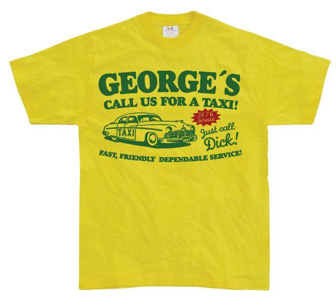 Pánské triko s humorným potiskem George´s Taxi 9e117dad7c