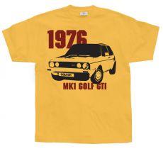 Pánské tričko Golf GTI Mk1 1976