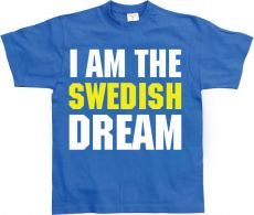 Pánské tričko I Am The Swedish Dream