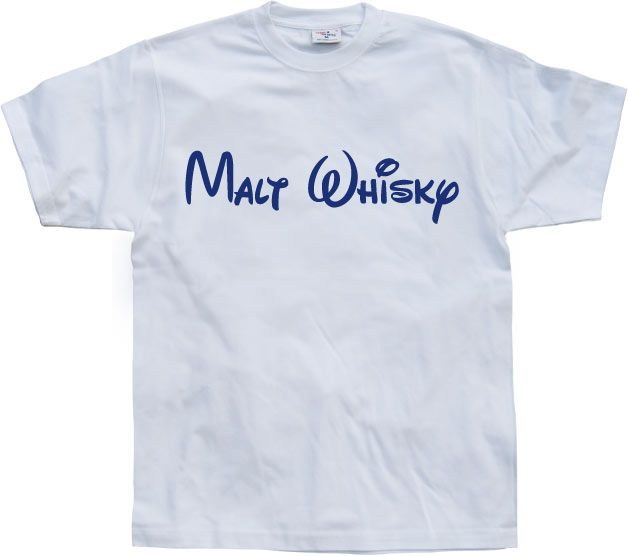 Pánské triko s humorným potiskem Malt Whisky